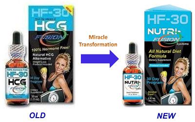 HCG Drops Transformation