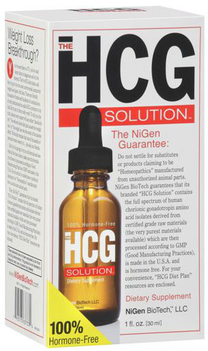 HCG Drops - The HCG Solution