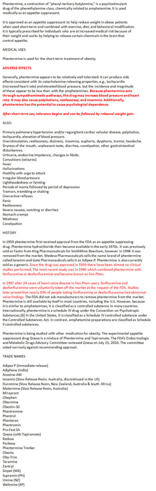 Phentermine Reviews - HCG Diet