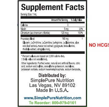 omni weight loss drops ingredients