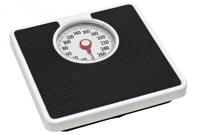 hcg diet weight loss scale