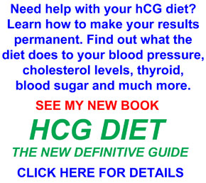 hcg diet the new definitive guide