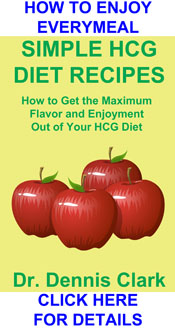 SIMPLE HCG DIET RECIPES